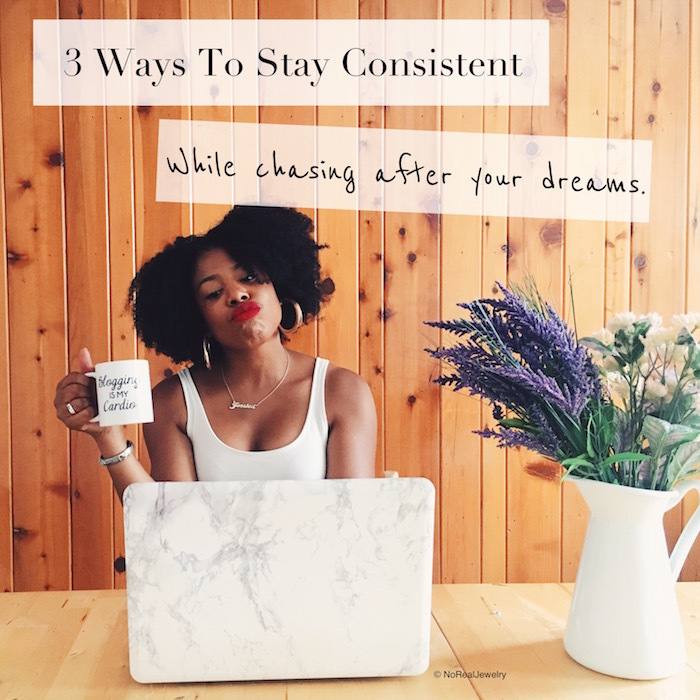 3 Ways to stay consistent header