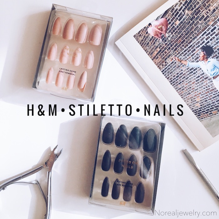 Beauty Finds H&M Stiletto Nails NoRealJewelry.Com 1