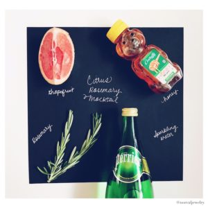 Citrus Rosemary Mocktail Recipe by Eat Drink Frolic on NoRealJewelry.Com Jessica Lauren 1