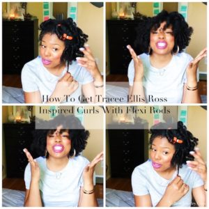 How To Get Tracee Ellis Ross Inspired Curls With Flexi Rods Jessica Lauren of NoRealJewelry.Com 1