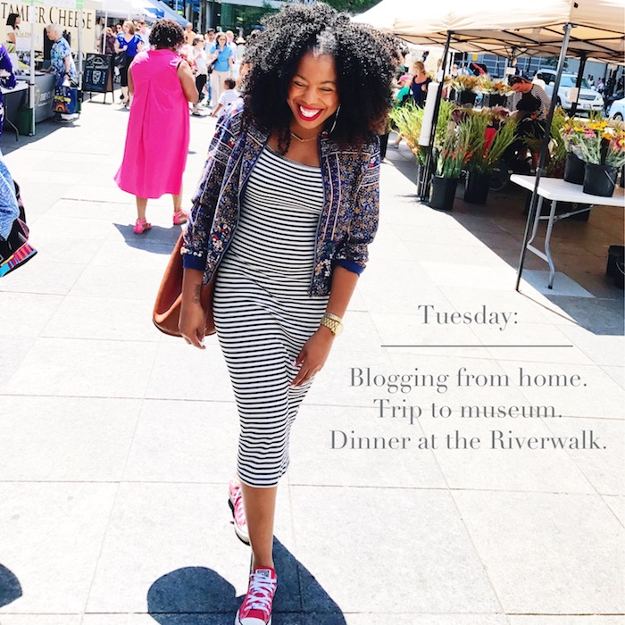 What I Wore This Week July 31st 2017 by Jessica Lauren of NoRealJewelry.Com 5