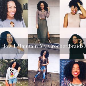 How I Maintain My Crochet Braids By Jessica Lauren of NoRealJewelry.Com 5