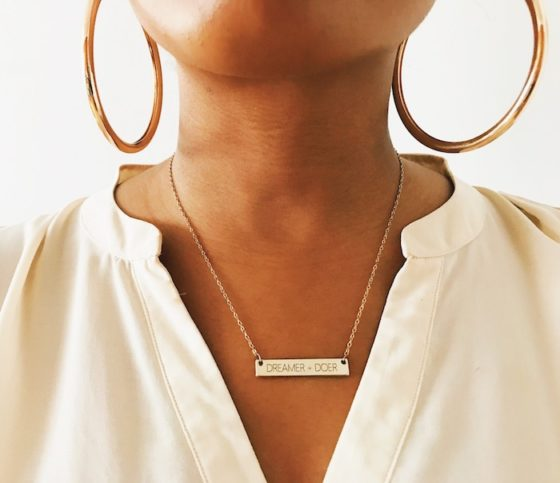 The Dreamer + Doer Necklace Shop-NoRealJewelry.Com by Jessica Lauren 2