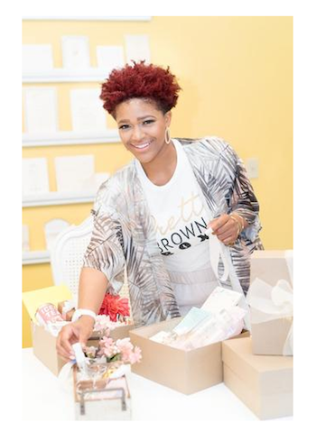 Lorielle Jacokson, Creator of Pretty Brown Box