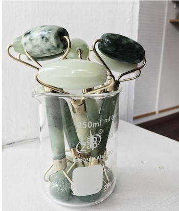 What The Heck Is A Jade Roller And Why Am I So Obsessed With It by Jessica Lauren of NoRealJewelry.Com 2