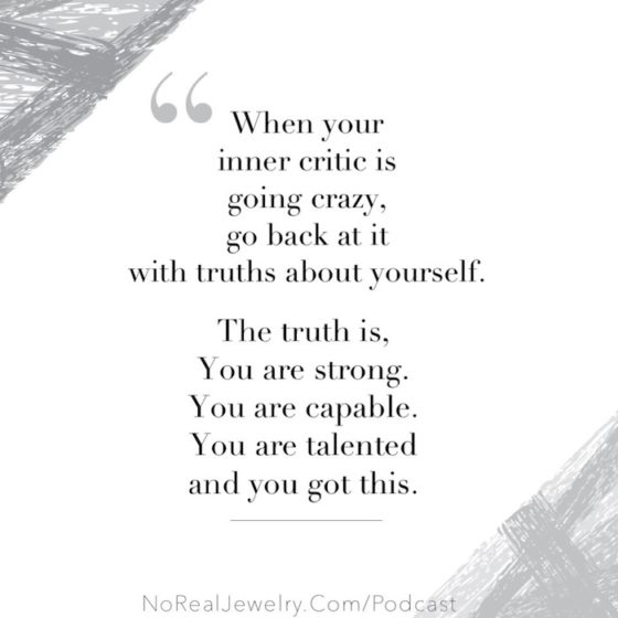 The Sunday Jump Start Podcast Episode One Everything You Feel Isn't The Truth By Jessica Lauren Of NoRealJewelry.Com 2