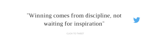 The Sunday Jump Start Podcast Episode Three Don't Wait For Inspiration: Discipline Is Bae By Jessica Lauren Of NoRealJewelry.Com
