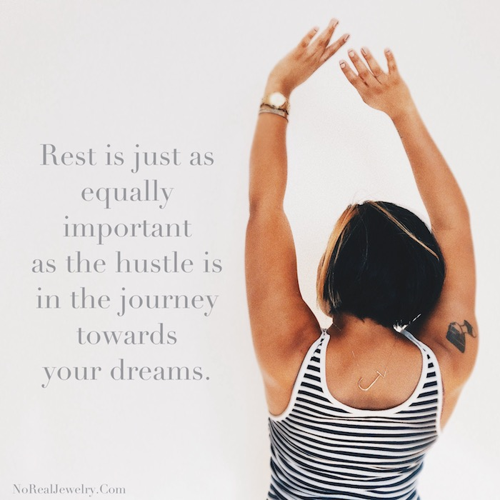 2018 My year Of Discipline, Focus And Rest By Jessica Lauren Of NoRealJewelry.Com 2