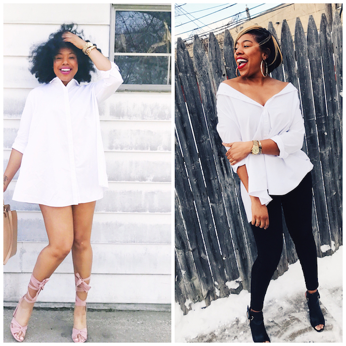 How I Style My Fave Summer Dress For The Winter By Jessica Lauren of NoRealJewelry.Com 21