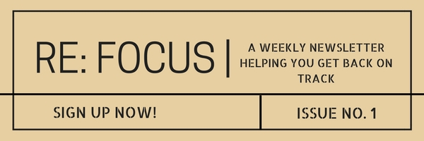 Sign Up Re_ Focus Newsletter